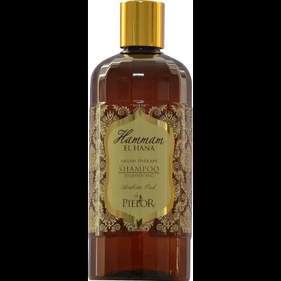 fles Hammam El Hana shampoo uit de Arabian Oud serie van Pielor