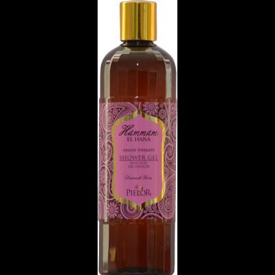 fles Hammam El Hana shower gel uit de Damask Rose serie van Pielor