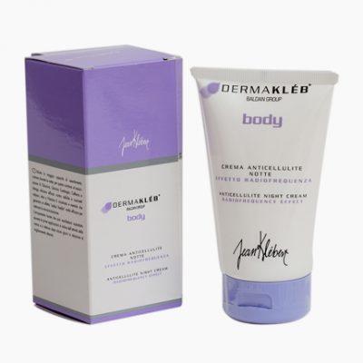 tube Dermakléb anti-cellulite night cream met verpakking