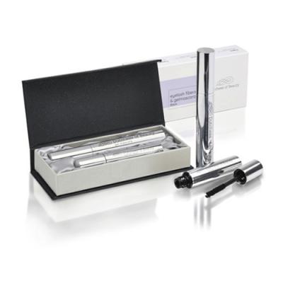 Verpakking en Dutchess of Beauty eyelash fibers en gelmascara