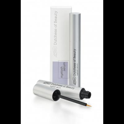 Verpakking met Dutchess of Beauty eyelash serum premium