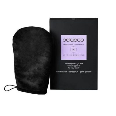 Oolaboo skin superb bronzing glove en verpakking